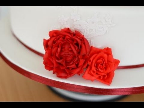 Alice in Wonderland Gum Paste Sugar Rose