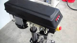 Обзор сверлильного станка (Precision Drill Press) JET JDP-10