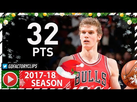 Lauri Markkanen Full Career-HIGH Highlights vs Pacers (2017.12.29) - 32 Pts, 7 Reb, SICK!