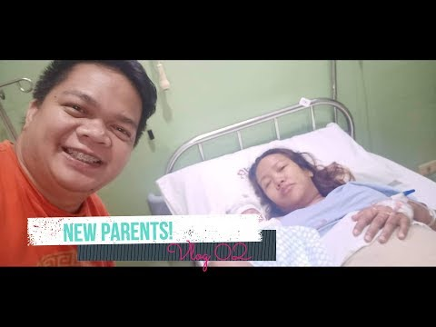 Labor and Delivery Vlog | Ang Paglabas ni Baby Aki | New Parents