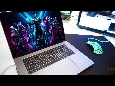 Playing Fortnite On A $5000 MacBook Pro (MAXED Out Specs)