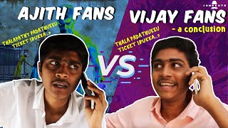 Ajith fans vs vijay fans - a conclusion
