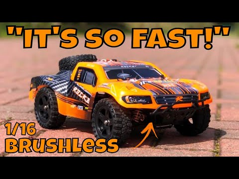 Remo Hobby 1625 Brushless Short Course Truck. Faster than a Slash