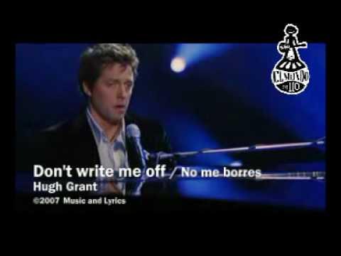 Music & Lyrics - Don't write me off (Subtitulada)