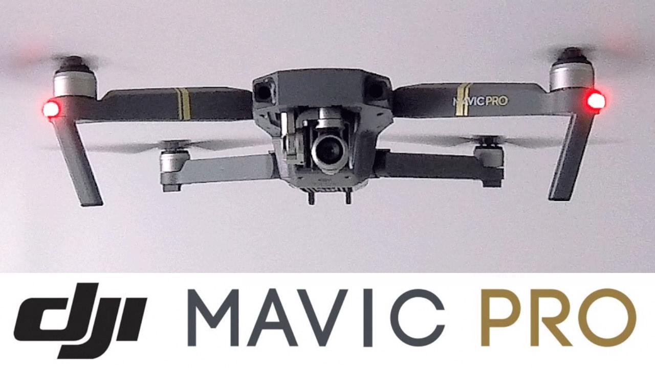 Présentation détaillée du DJI MAVIC PRO 2017 en français