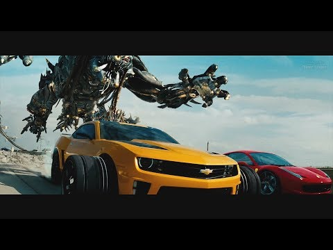 transformers:-dark-of-the-moon-(2011)---freeway-chase---only-action-[4k]
