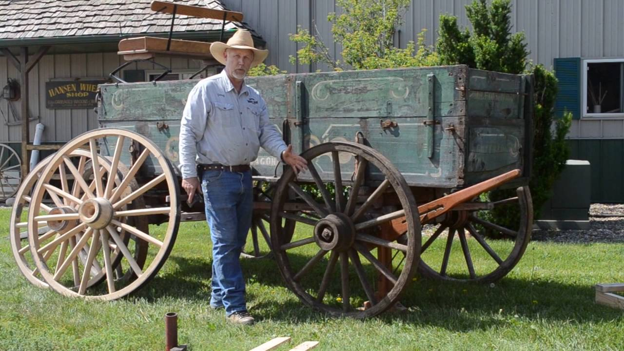 Replacing Old Wagon Wheels With New Wheels At Hwws Youtube