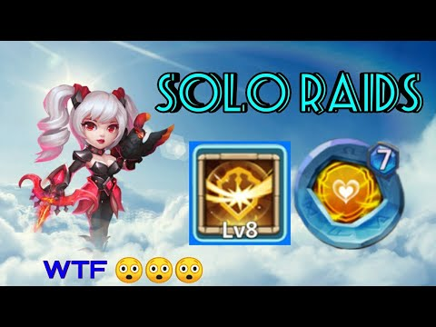 Dove Keeper | 8/8 Survival | 7 Insingia Tenacity | Solo GamePlay | Only Raids | Castle Clash