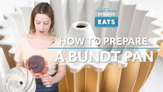 How to Prepare a Bundt Pan | Serious Eats