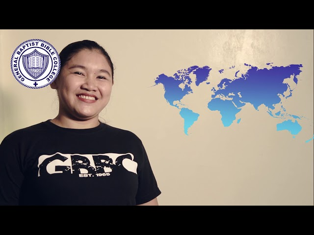 General Baptist Bible College of the Philippines and the Mission One Program