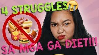 4 STRUGGLES SA MGA GA DIET! w/ SPECIAL GUESTS!