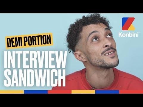 Youtube: Demi Portion – Sa sandwicherie a fait faillite | Interview Sandwich | Konbini