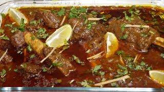 Purani Dilli ki Famous Nihari Ayse Banaye Ghar Par | Special Dinner Recipe | Yasmin Huma Khan