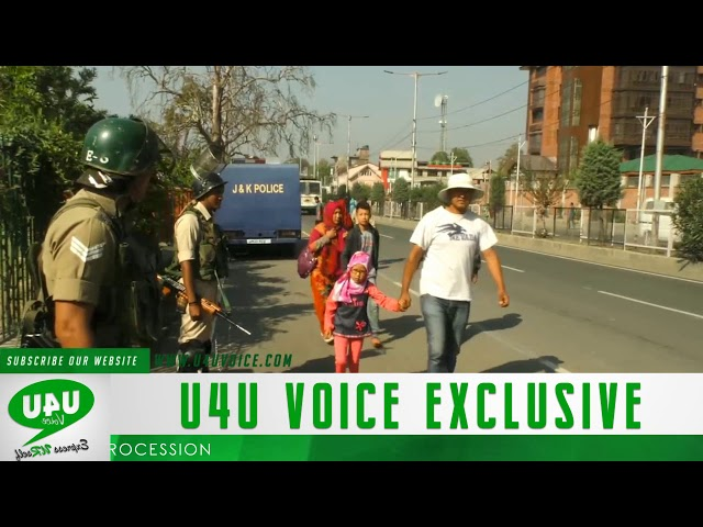 restrictions Imposed in Srinagar parts ahead of Muharram Procession