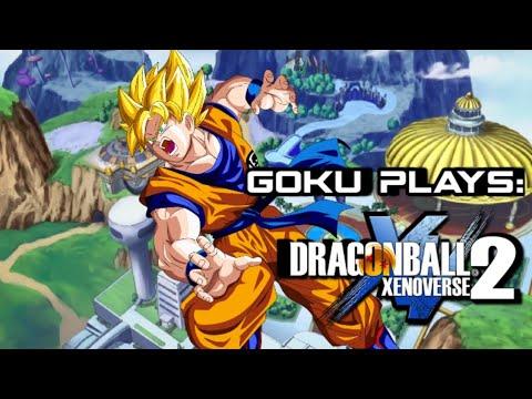 Goku plays: Dragon Ball Xenoverse 2 |