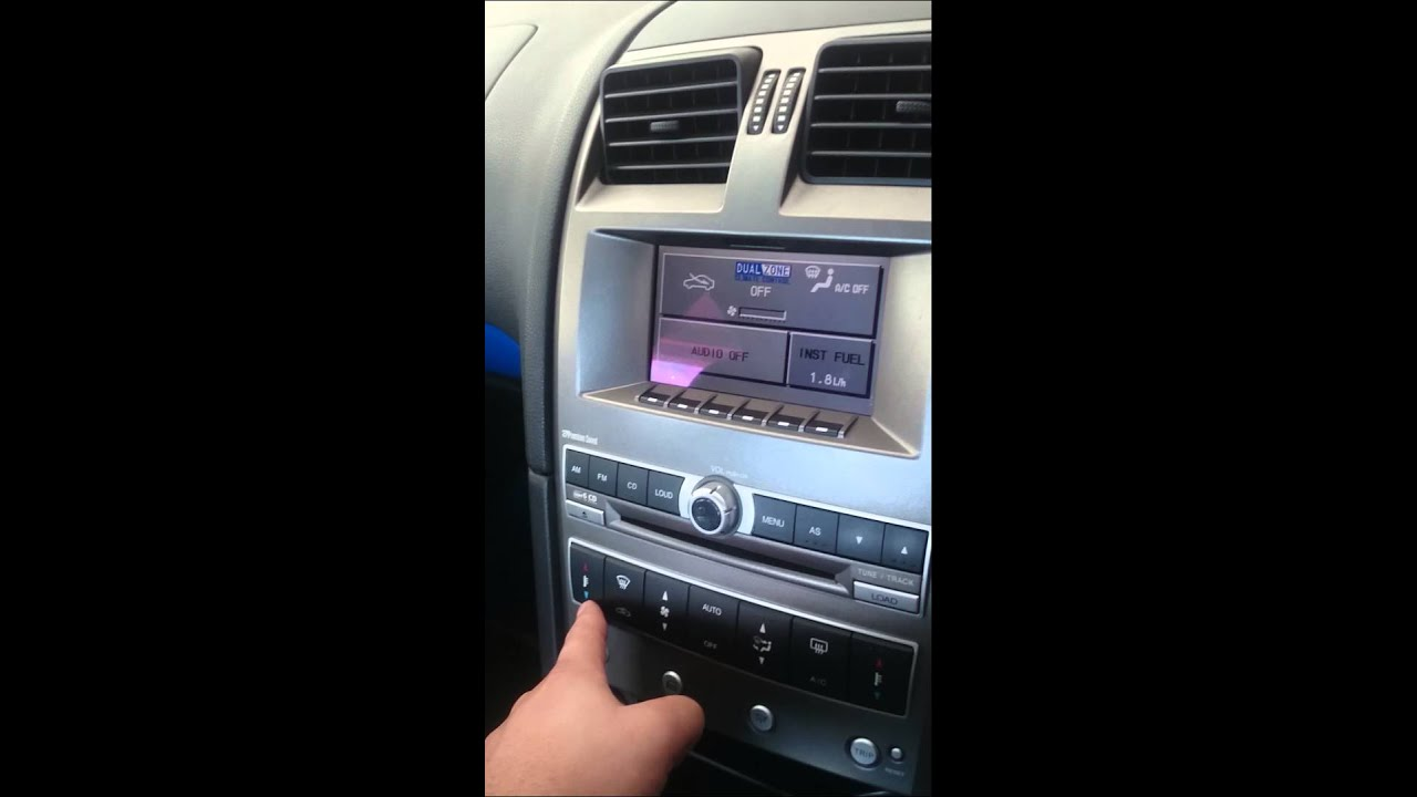 Aircon controls not working Ford Ba Bf Falcon XR