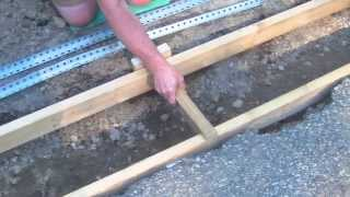 Install a Trench Drain Video 3 of 7