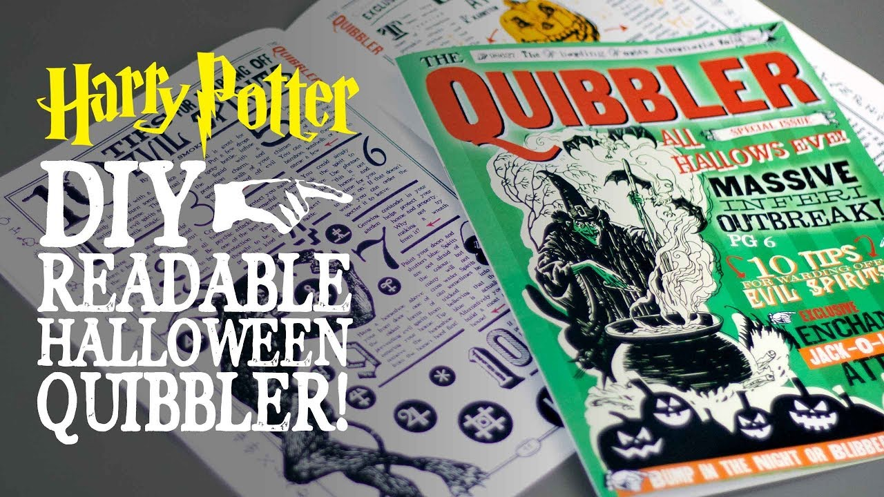 photo about Quibbler Printable identify Wizardry Muggle Magic