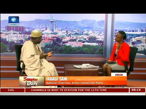 APC Just An Organisation Not A Political Party - ADP Nat'l Chmn |Sunrise Daily|