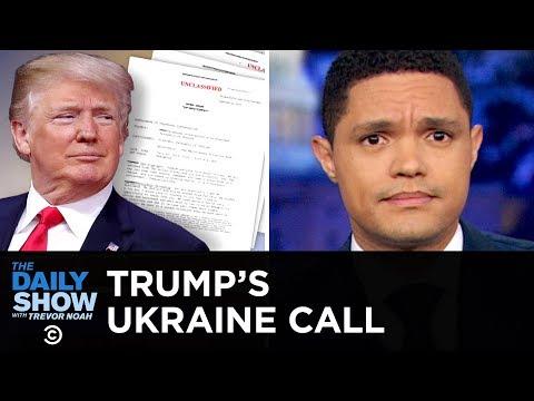 Trump's Ukraine Call