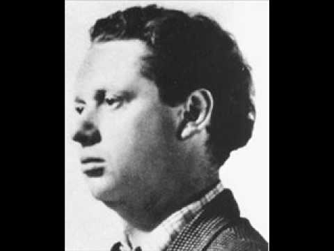 Dylan Thomas — Ceremony After A Fire Raid