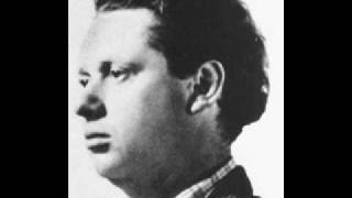 Watch Dylan Thomas Ceremony After A Fire Raid video