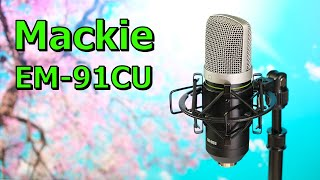 Mackie EM-91CU | ein klasse USB-Mikro für gerade mal 50€
