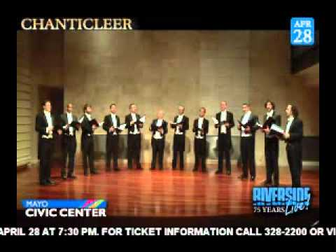 Chanticleer...Coming To Rochester, MN - 4/28/12