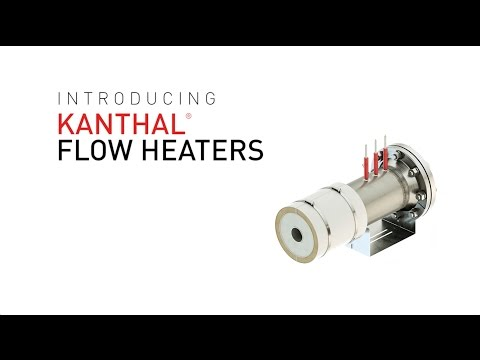 Kanthal® Flow Heaters