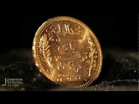 Pièce de 20 Francs Tunisie en Or - Comptoir National de l'Or (Gold.fr)
