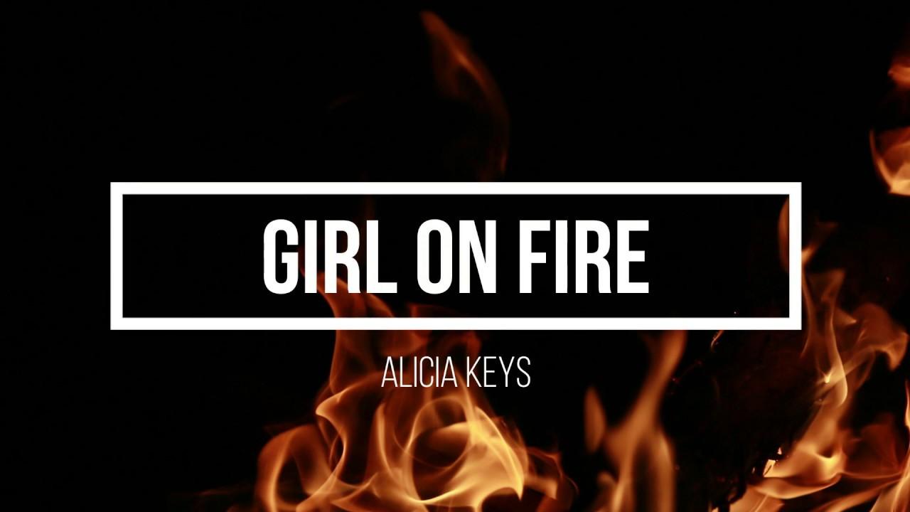 Alicia Keys Girl On Fire Traducao Letra Youtube
