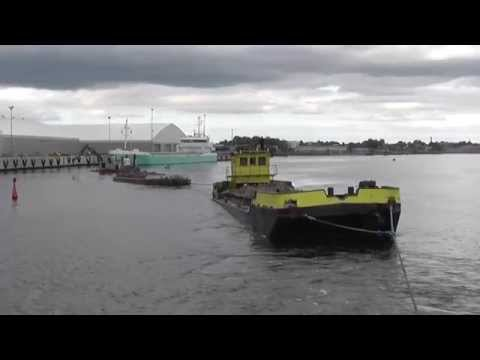 1+2  Tugboat and 2 Split Hopper Barge
