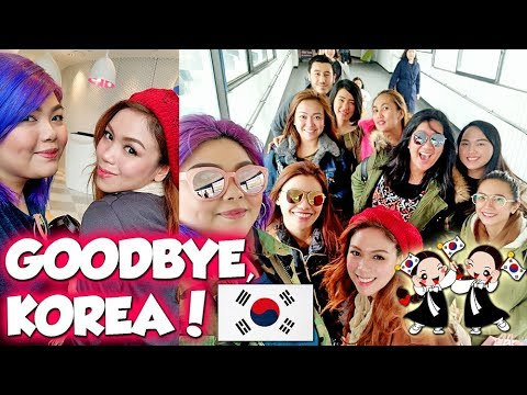 LAST DAY IN KOREA + DELAYED FLIGHT + EXCITED SA PASALUBONG! | Bing Vlogs