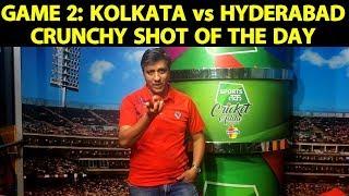 Crunchy Shot of the Day by Washington Apple: Kolkata Beat Hyderabad By 6 Wickets   IPL 2019