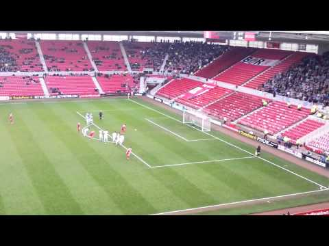Middlesbrough V Hastings United. Ishmael Miller Penalty Miss In FA Cup