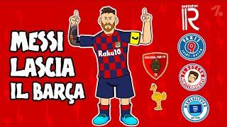 Lionel Messi LASCIA il Barcellona! Dove andrà? ► OneFootball x 442oons
