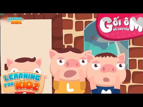 Gối Ôm Kể Chuyện Tập 1 - Ba Chú Heo Con - Đọc Truyện Bé Nghe - Learning For Kidz