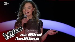 "Angelica Peroni ""Black Widow"" - Blind Auditions #2 - The Voice of Italy 2018"