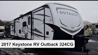 2017 keystone rv outback 324cg   toy hauler travel trailer