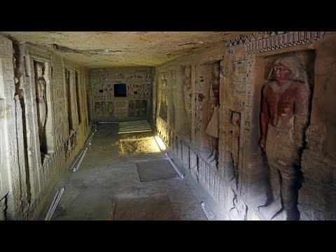 شاهد: اكتشاف مقبرة فرعونية في مصر عمرها 4400 عام  - نشر قبل 16 دقيقة