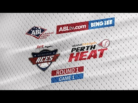 REPLAY:  Perth Heat @ Melbourne Aces, R1/G1 #ABLHeatAces