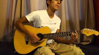 live while were young - one direction guitar cover by sheen