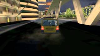 [FSX HD] Airport Bangkok Driving