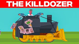 The Killdozer - A Man's Homemade Tank Rampage | The Infographics Show