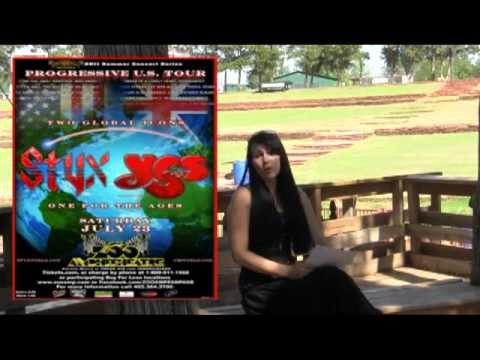 @ Zoo Amp Blog: Yes and Styx at Oklahoma City Zoo Amphitheatre