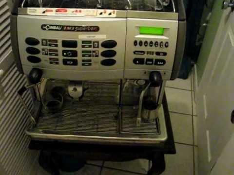 for sale la cimbali m3 superbar super auto espresso machine youtube. Black Bedroom Furniture Sets. Home Design Ideas