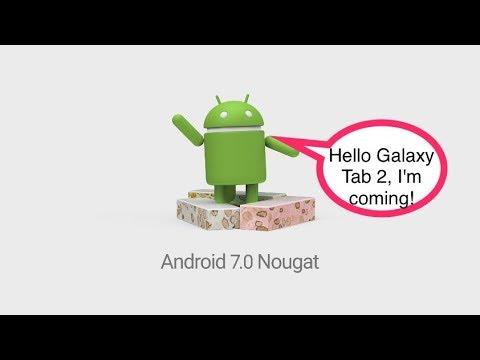 How to install Android 7.1.2 on your Galaxy Tab 2 10.1 GTP5110