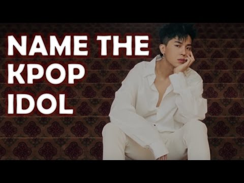 Kpop Quiz: Name the Kpop Idol