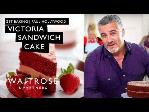 Get Baking with Paul Hollywood | Chocolate Victoria Sandwich Cake | Waitrose