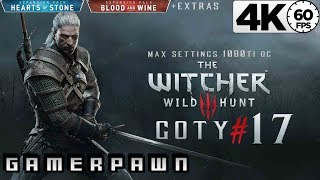 The Witcher 3: Wild Hunt 4K GOTY Edition 2160p 60fps Max Settings Death-March Part 17